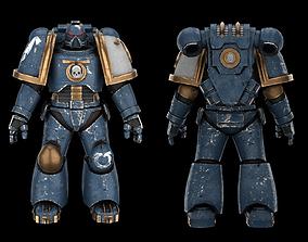 Warhammer Marine Soldier soldier 3D asset