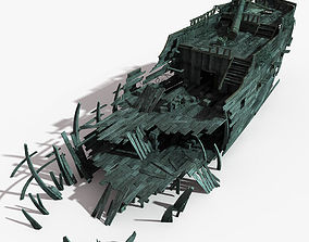 3D Shipwreck 03