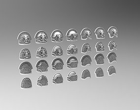 Deathvigil Shoulderpads 3D print model