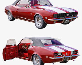 3D Chevrolet camaro 1968