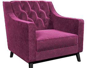 Dantonehome Brighton Classic armchair 3D