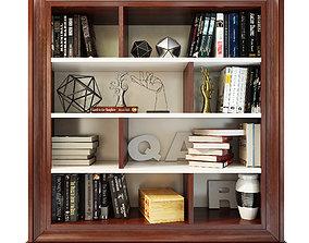 3D Mugali Bookcase shelving Galiano emocion