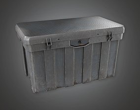3D model Military Supplies Container 07 - MLT - PBR Game