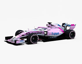 Force India VJM11 Car 3D model