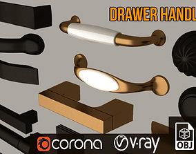 Furniture Drawer Handle Set 3D model