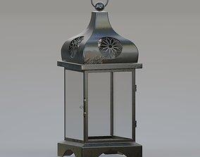 3D model Square Moroccan lantern