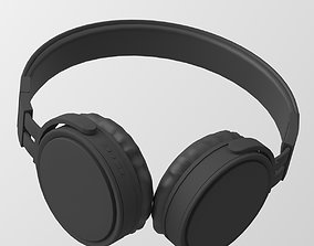 Headphone and Stand 3D Model