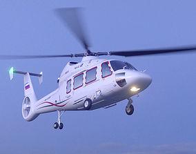 3D model Helicopter KA-62