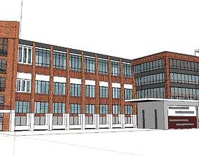 3D Office-Teaching Building-Canteen 57