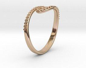 3D printable model Tentacle Ring no1
