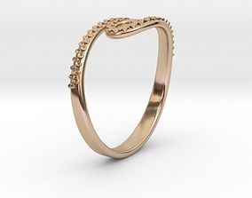 3D printable model Tentacle Ring no1