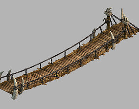 3D Dragon Fortress-Wooden Bridge