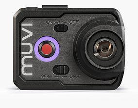 Veho VCC-006-K2NPNG Muvi action camera 3D asset