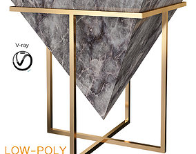 Toby Jones - GRAVITY FURNITURE SERIES - LOW TABLE 3D asset
