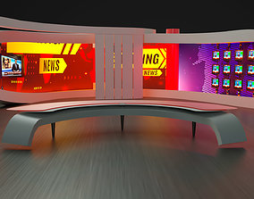 News Virtual Studio news 3D model