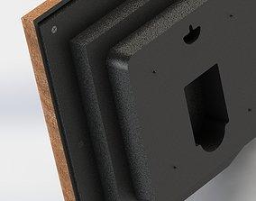 3D model wall clock watch