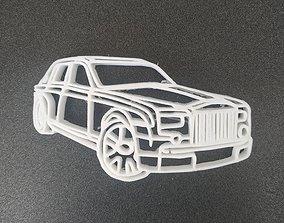 3D printable model Rolls Royce keychain
