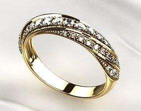 Yellow Gold Ring 3D print model