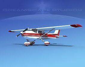 3D Cessna 172 Skyhawk 1976 V03