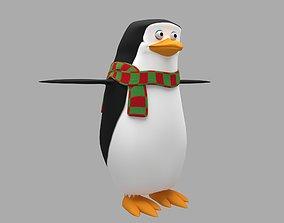 3D asset Cartoon Penguin animals
