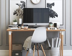 Office workplace 17 3D