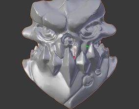 3D printable model Darksider Skull