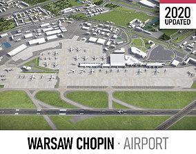 Warsaw Chopin Airport - WAW 3D model