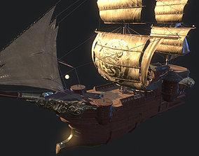 3D model PBR ship