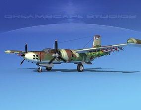 3D Douglas A-26K Invader IADF