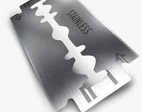 Razor blade 3D