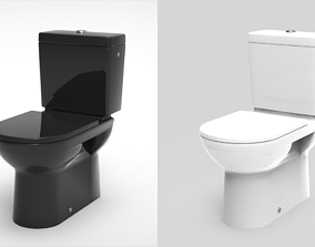 WC Water Closet - Bathroom equipment 3D model