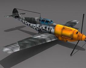 3D model Messerschmitt BF 109