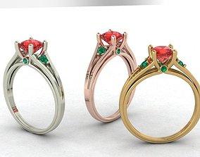ring cushion romance 3D print model