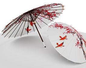 Umbrella 3D model beautiful