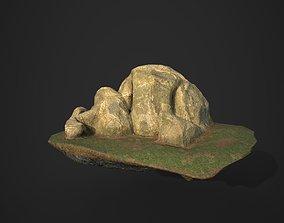 3D asset Rock 11