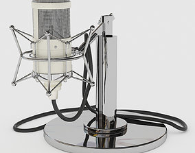 Studio Tube Neuman M147 Microphone 3D model