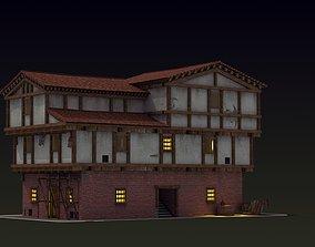 3D model Small Ancient Apartment