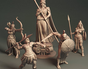 Daughters of Athena - Bundle 3D print model