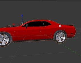 Dodge Chellenger SRT10 3D asset