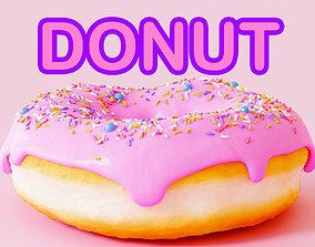 Donut 100 3D model
