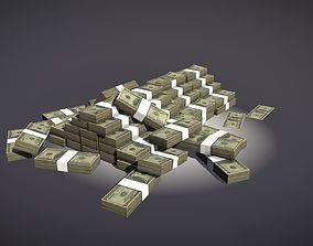 3D model Stacks of Money