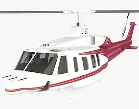 3D model Bell 214ST
