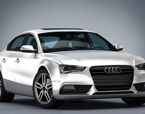 Audi A5 Sportback 2012 3d model sport