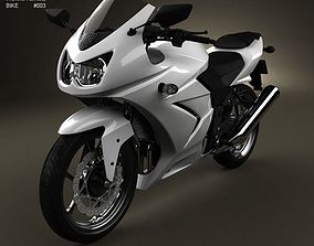Kawasaki Ninja 250R 3D