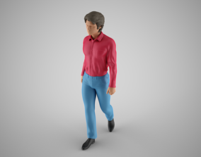 3D print model Walking Man