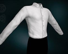 3D model White Suit Shirt