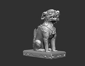 buddha 3D print model Ancient Mascot