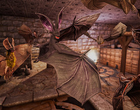 Bats Pack PBR 3D model