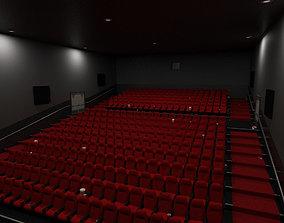 Cinema - Low Poly 3D asset