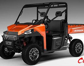 3D Polaris Ranger ATV - 2017